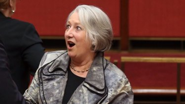 """Sue Boyce: """"I'd just really hope that the vast majority of the Liberals would support a conscience vote.''"""