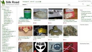 Silk Road online drug forum.
