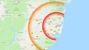 This is how far out typical Sydney first homebuyers have to move.