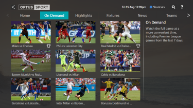 Fetch TV's Optus Sport app offers every EPL match live this season