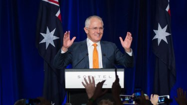 Even if Malcolm Turnbull leads the Coalition to victory, it won't have control of the senate.