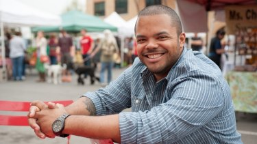 Chef Roger Mooking hosts Man Fire Food.