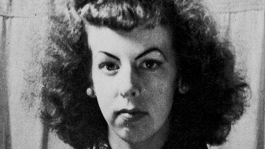 Portrait of Rosaleen Norton, artist and Kings Cross identity