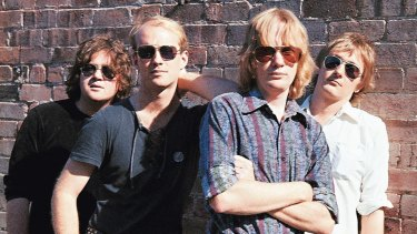 The Saints - Chris Bailey, Ivor Hay, Kym Bradshaw and Ed Kuepper - are a landmark Brisbane band.