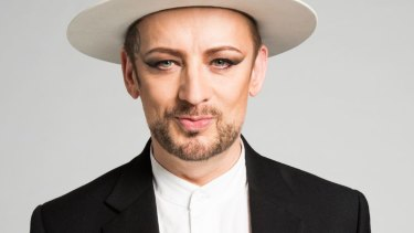 Boy George returns to Australia with Culture Club in June.