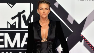 """Actress Ruby Rose, who identifies as gender fluid, is challenging gender and sexuality """"norms""""."""