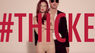 Emily Ratajkowski found fame in Robin Thicke's controversial <i>Blurred Lines</i> video.