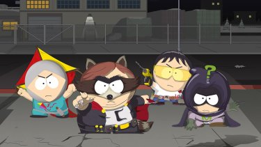 The latest game from the South Park creators has, this time, arrived in Australia without being censored.