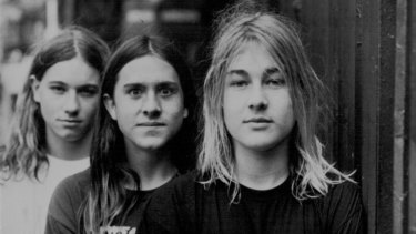 A young Silverchair in 1995.