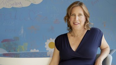 Susan Wojcicki, the chief executive of YouTube.