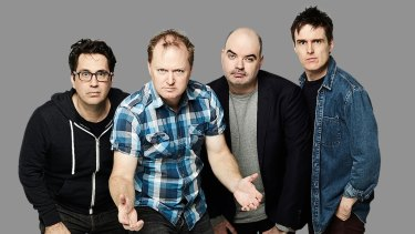 Chris Taylor, Charles Firth, Dominic Knight and Andrew Hansen have promised to get up to all sorts of trouble on Triple M's new drive show.