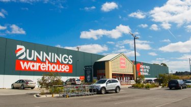 "Bunnings' focus has shifted from smaller ""home centres"" to larger-format ""warehouse"" stores in response to population growth and changing consumer preferences."
