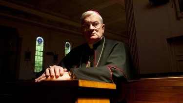 """""""A whole world within"""": Bishop Peter Elliott, of Melbourne, says Catholics believe that the battle with the Devil has been won, but that skirmishes continue within individuals."""