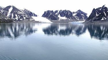 Arctic landscapes are in danger.