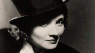 Marlene Dietrich in the 1930s.