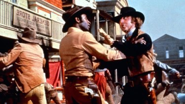 Wilder in Mel Brooks' comedy classic Blazing Saddles.