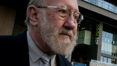 Former St Paul's Principal Gilbert Case leaves court in 2015.