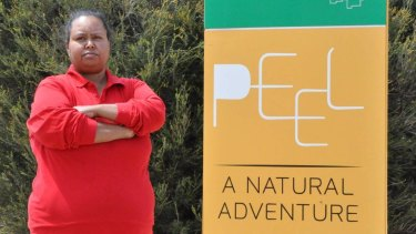 'Time for change': Binjareb traditional owner Karri-Anne Kearing says the region has to drop the name 'Peel'.