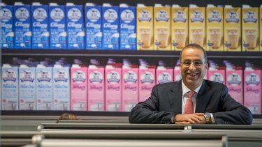 """Murray Goulburn managing director Gary Helou: """"There's no doubt that prices would be a lot lower than they are had it not been for the dairy food strategy."""""""