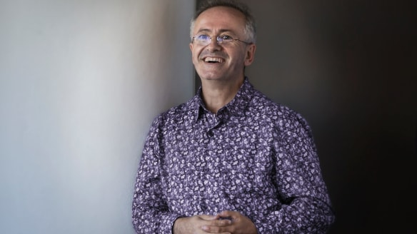 Andrew Denton says his new show Interview is ''a space where ideas can be put forward without there necessarily being an argument''.