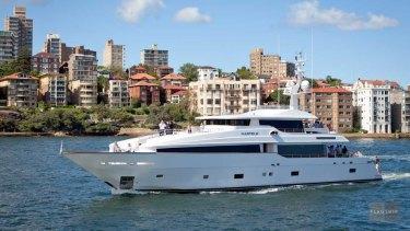 The Masteka 2 broke down off the NSW Mid North Coast on Tuesday.