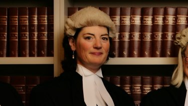 Former president of the Victorian Bar Association Fiona McLeod, SC, says the bar is among the worst professions for unequal pay.