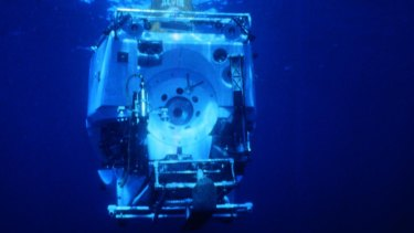 Alvin, a deep sea diving vessel, owned by the US Navy.