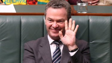 Leader of House and Education Minister Christopher Pyne.