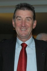 Property developer Graham Potts, developer of the former Brumbies land at Griffith and a beneficiary of the Glebe Park land purchase.