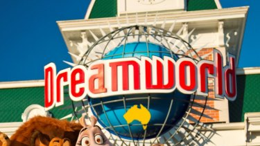 A man who fell from a ride at Dreamworld is recovering in hospital.