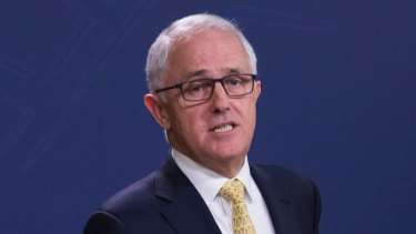 Malcolm Turnbull says Russia has a 'solemn obligation' to rein in its 'client' Syria.