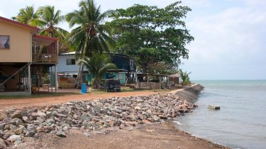 Boigu, a low, inhabited Torres Strait Island will need protection from rising seas.