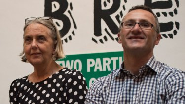 Senator Lee Rhiannon and Greens leader Richard Di Natale have an uneasy relationship.