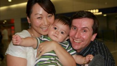 Geoff and Lily Fenton with their son Aidan, who died of diabetes at the Hurstville Ritz during a week long treatment conference led by a doctor who promotes slapping therapy.