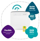 Optus' Home Wireless modem uses the mobile 4G network, but isn't for taking on the go.
