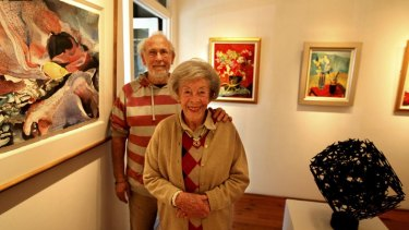 John Seed and Judy Cassab