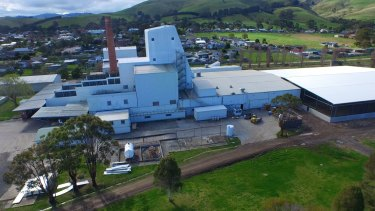 The ViPlus Dairy factory at Toora, in South Gippsland.