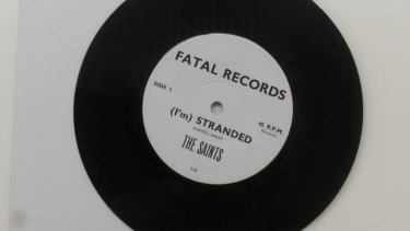 The Saints funded the recording and release of their first single (I'm) Stranded.