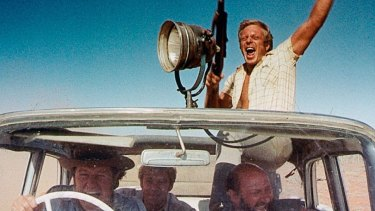 A film still from the 1971 movie Wake In Fright which starred Donald Pleasance, Jack Thompson and Chips Rafferty.