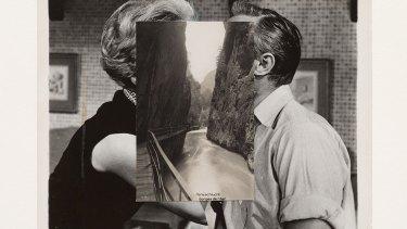 John Stezaker's <i>Pair XXVII</i>, 2015, collage.