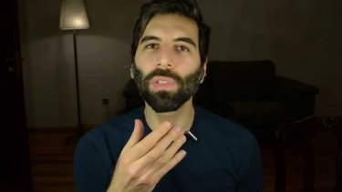 "Daryush ""Roosh"" Valizadeh, the American founder of the Return of Kings group."