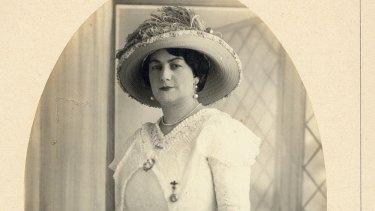 Rosetta Norman in London, c1913, where she was known as Madame Zeno.