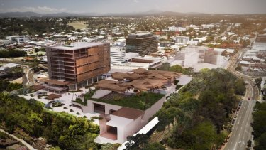 The proposed Ipswich City Square falls under the auspices of the council-owned Ipswich City Properties.