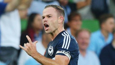 Leigh Broxham: Set for club games record.