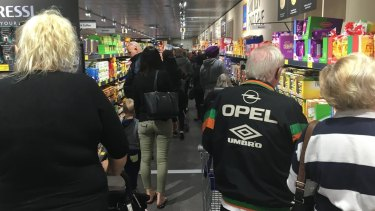 Shoppers can't get enough of Aldi.