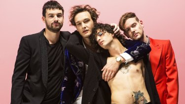 The 1975 sound more like 1987.