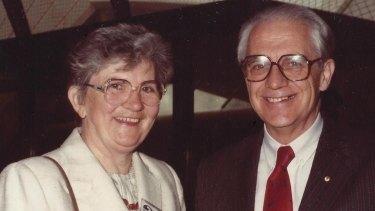 Bill and Nancy Garrett.