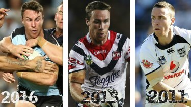 Mr consistency: James Maloney will play in his third grand final for his third different club.