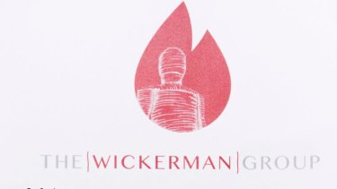 The letterhead of Craig Thomson's Wickerman Group echoes the title of an iconic 1970s horror movie.