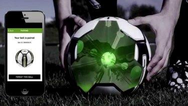 The adidas miCoach smart ball.